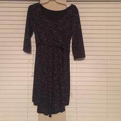 Belted Dress 3/4 sleeve belted dress Dresses High Low