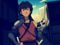 I really liked Jet...I used to ship him with Korra but obviously it didn't work out because he...he...*sob*