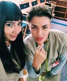 Co-stars: The pair star as Stella and Flaca in Orange Is The New Black