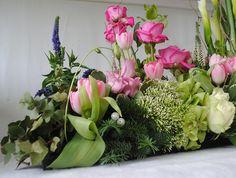 floral tables   Floral table arrangement   Flickr - Photo Sharing!