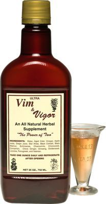 Herbal Remedy | Vim and Vigor