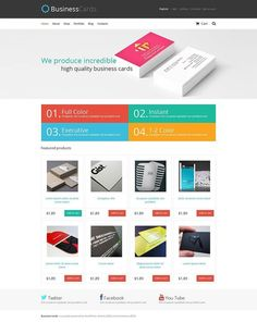 What about this? Yes or No?   Business Cards Store WooCommerce Theme CLICK HERE! live demo  http://cattemplate.com/template/?go=2gJZohE