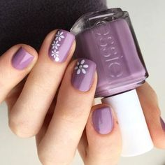 Best Spring Nails - 24 Best Spring Nails for 2019 Are you looking for some inspiration for Spring? We have 24 of the Best Spring Nails for Below you will find every color that is typically associated with Spring. Spring Nail Colors, Spring Nail Art, Nail Designs Spring, Simple Nail Designs, Spring Nails, Summer Nails, Flower Nail Designs, Classy Nails, Stylish Nails