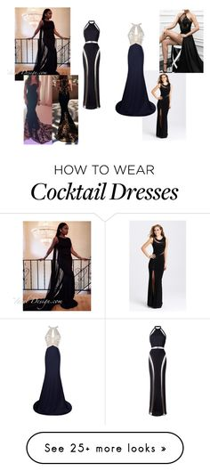 """dress ideas"" by angel-holland on Polyvore featuring Madison James and Balmain"
