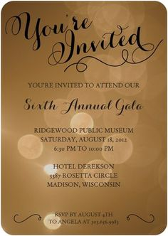 evening out business invites pinterest corporate invitation