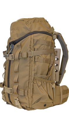 Mystery Ranch Backpack, looks bad ass, total new innovative design too.