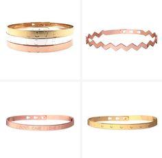 Coup de coeur pour les #joncs Mya Bay à mixer sans modération aux poignets ! #bijoux #jewelry
