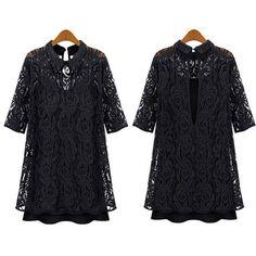 vestido preto basico