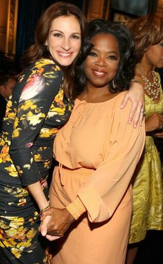 Julia Roberts & Oprah Winfrey