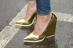 tendencias primavera 2013 tonos metalicos brillos plata oro cobre