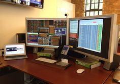 The Mac Workstation of an Equities Trader