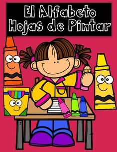 Perfect for Prek and Kinder students who are just going to be introduced the alphabet. 54 El Alfabeto Practice Coloring Sheets. 2 per letter except for W and X. You can use these to introduce the letter of the week. Kids can practice fine motor skills, letter