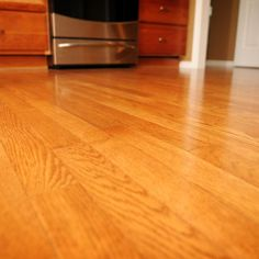 Hardwood Floors... Create your own hardwood floor cleaning solution by mixing one gallon of water with one cup of vinegar and 10 drops of peppermint essential oil. To make a DIY floor polish, mix equal parts olive oil and white vinegar.