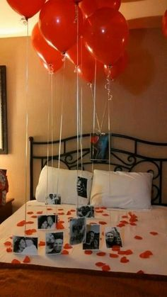 - - Awesome 43 Best Valentine's Day Bedroom Decoration Ideas. … Holiday Outfits Awesome 43 Best Valentine's Day Bedroom Decoration Ideas. Diy Valentines Gifts For Him, Valentines Day Decorations, Valentine Crafts, Birthday Decorations, Valentines Day Gifts For Him Husband, Romantic Valentines Day Ideas, Romantic Birthday, Husband Gifts, Valentines Baskets For Him