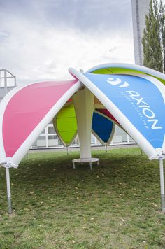 AXION Flower   AXION Inflatable tents and furniture for events and promotion