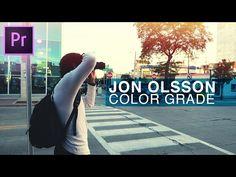 (14) How to Color Grade like Jon Olsson's vlogs in Adobe Premiere Pro CC Tutorial (Team Overkill) - YouTube