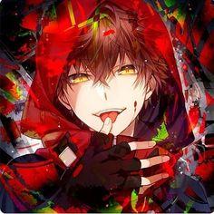 Don't run ( Yandere twins x skeleton reader ) - 13 - He or Us ? Anime Sexy, Hot Anime Boy, Dark Anime, Anime Boys, Badass Anime, Anime Sensual, Cute Anime Guys, Red Hair Anime Guy, Manga Cute
