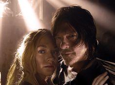 Beth & Daryl ( it's most likely fan art, but I still like it )