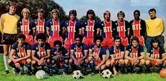 EQUIPOS DE FÚTBOL: PARIS SAINT-GERMAIN 1976-77