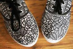 DIY-doodle shoes
