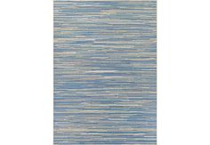 Alassio Blue 76 x 109 Indoor Outdoor Rug.169.99. 76L x 109W. Find affordable Rugs for your home that will complement the rest of your furniture. #iSofa #roomstogo