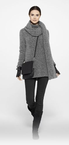 This is pretty much my winter uniform....just wish I was this thin.