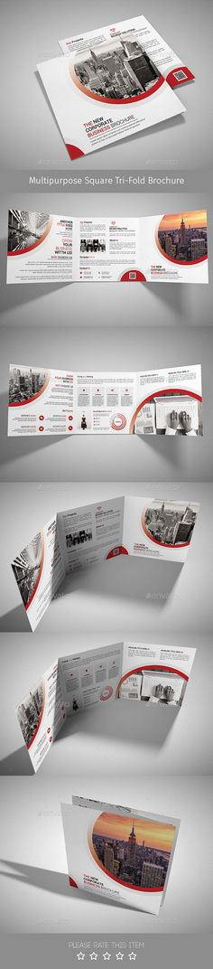 Corporate Tri-fold Square Brochure Template PSD. Download here: http://graphicriver.net/item/corporate-trifold-square-brochure-10/14888973?ref=ksioks