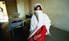 A patient at Kabul Mental Health Hospital. Women patients were not treated under the Taliban. #Riverparkpsych