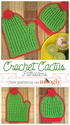 Free Crochet PotHolder Patterns For Your Kitchen - Craft Ideas Free Crochet Pot Holder Patterns,Free Crochet Cactus Potholders-You will find here many cute and creative free crochet potholder patterns that will really blow your mi Bag Crochet, Crochet Potholders, Moogly Crochet, Crochet Scrubbies, Crochet Cats, Crochet Geek, Crochet Birds, Form Crochet, Crochet Food