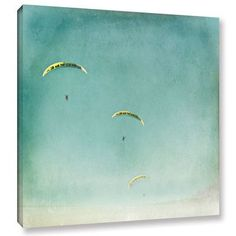 """Varick Gallery The Escape Painting Print on Wrapped Canvas Size: 18"""" H x 18"""" W x 2"""" D"""