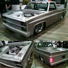 """More pics from submitted by Liz Stively . Tag the owner or builder. from Liz Stively"""" 1984 Chevy Truck, S10 Truck, Custom Chevy Trucks, Chevy C10, Gm Trucks, Chevy Pickups, Chevrolet Trucks, Cool Trucks, Pickup Trucks"""