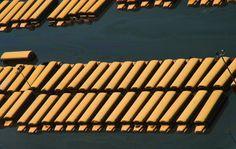 Школьные автобусы  затоплены  из-за урагана Катрина  4 сентября 2005 года в Новом Орлеане