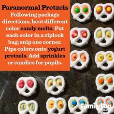 Such a great idea for Halloween! And they sound so easy to make.