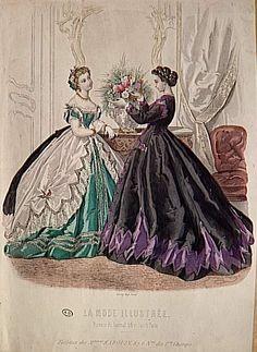 1865, La Mode Illustree
