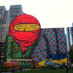 Street Art #Boston (by osgemeos)