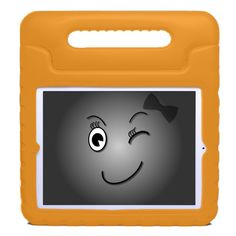 Kay's Case KidBox Eva Foam Apple iPad Mini Case with handles for Kids Kid safe. Made of soft non toxic foam Toddlers can carry their iPad everywhere around the house Bounces and absorbs shock when dropped In Orange, Blue, Pink and Green