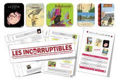 Rallye - lecture Les Incorruptibles CP, CE1, CE2 et CM1 sélection 2015-2016