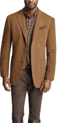 Check this out! Signed Limited Edition Worcester Rust Modern Fit Sport Coat - Blazers & Jackets from Joseph Abboud. #JosephAbboud