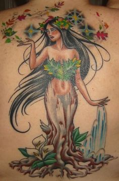 Mother Earth back piece tattoo. Artist: Darcy Nutt @ Challis Ink in Boise, ID Mother Earth Tattoo, I Mother Earth, Back Piece Tattoo, Tattoo Time, Back Pieces, Tattoo Inspiration, Wonders Of The World, Tattoo Artists, Cool Tattoos
