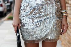 Embellished skirts.