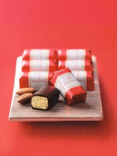 There are few things better than the Klassic - dark chocolate covered Marzipan from Niederegger. Available in Canada from our shop - www.gingerbread-world.com