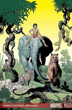 Marvel comics the jungle book adaptation