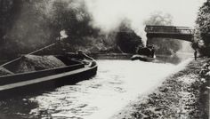 "Caption: ""Tug 'Brent' during towing trials on the Regent's Canal"" Canal Barge, Canal Boat, London Pictures, London Photos, Regents Canal, British, Trials, Caption, Places"