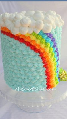 I want to make this cake!  So cute!