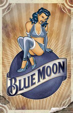Blue Moon Gal