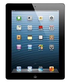Apple iPad 4 (4th Generation) features a stunning Retina display iSight and FaceTime cameras the all new A6X chip and ultrafast wireless. And with access to over 275000 apps on the App Store you c...