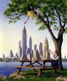 Architecture & Fantasy by Rob Gonsalves
