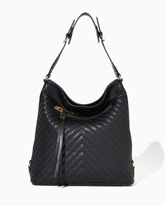 Quilted Chevron Hobo | Fashion Handbags & Purses | charming charlie