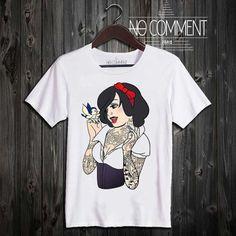 T-shirt Blanche Tatoo