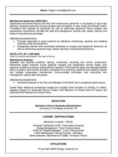 hotel engineer resume example httpresumesdesigncomhotel engineer